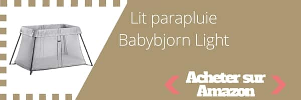babybjorn light un lit parapluie l ger et facile installer babybed. Black Bedroom Furniture Sets. Home Design Ideas