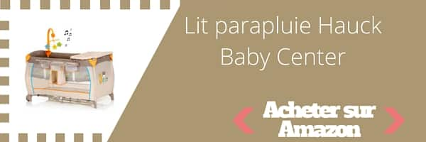 acheter lit parapluie Hauck Babycenter