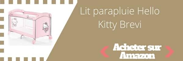 acheter lit parapluie hello kitty