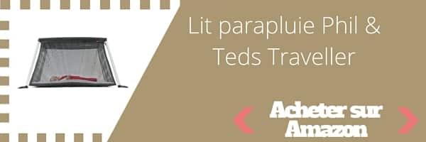 acheter lit parapluie Phil and teds