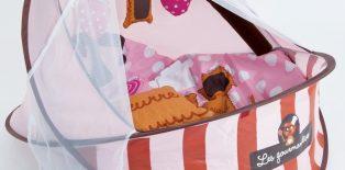 Couffin petit nid nomade Ludi gourmandise : un jeu d'enfant