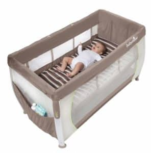 babymoov silver dream un lit de voyage tout quip babybed. Black Bedroom Furniture Sets. Home Design Ideas