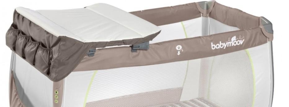 TOP 7 lits parapluies avec table à langer