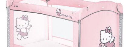 Lit parapluie Hello Kitty Brevi : pour séduire les enfants