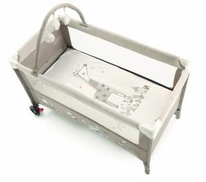 lit pliant jane avec arche de jeux pour enfant