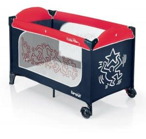 lit parapluie keith haring by brevi un design surprenant babybed. Black Bedroom Furniture Sets. Home Design Ideas
