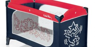 Lit parapluie Keith Haring by Brevi : un design surprenant