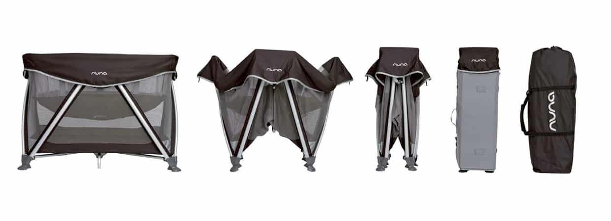 Lit parapluie Sena de Nuna : robuste et facile à installer - BabyBed