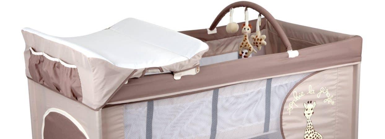 lit parapluie sophie la girafe optic la qualit en plus babybed. Black Bedroom Furniture Sets. Home Design Ideas