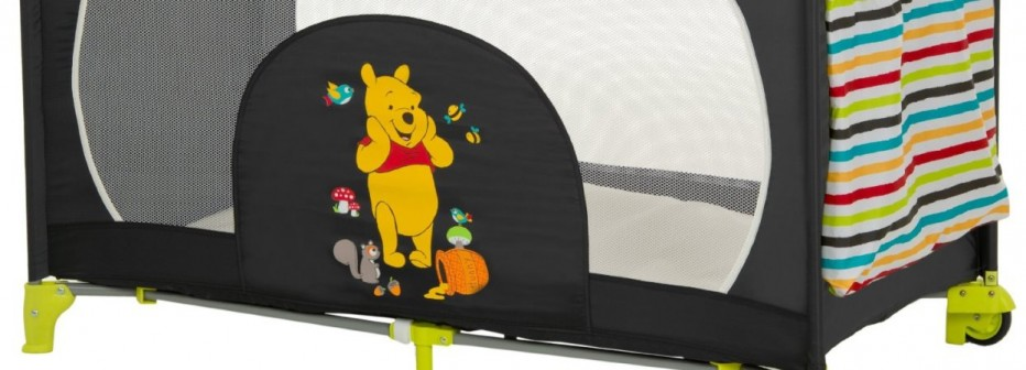 Hauck Dream'n Play go plus : lit parapluie Winnie pour convaincre les enfants