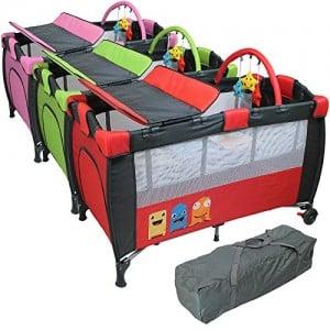lit parapluie monsieur bébé avec table à langer