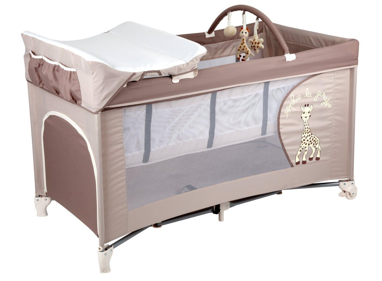 Top 7 lits parapluies avec table langer babybed for Combine lit table a langer