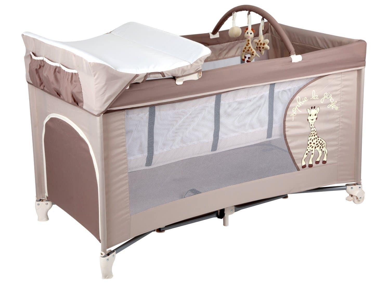 TOP 7 lits parapluies avec table à langer  BabyBed