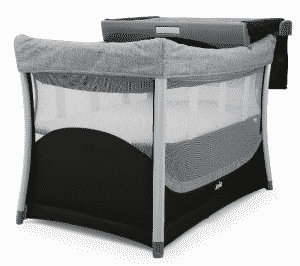joie illusion lit parapluie avec table langer escamotable babybed. Black Bedroom Furniture Sets. Home Design Ideas