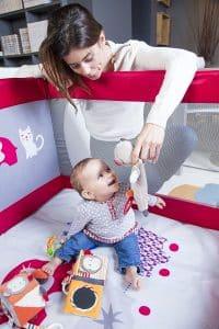 lit parc Tigex multifonction pour enfant