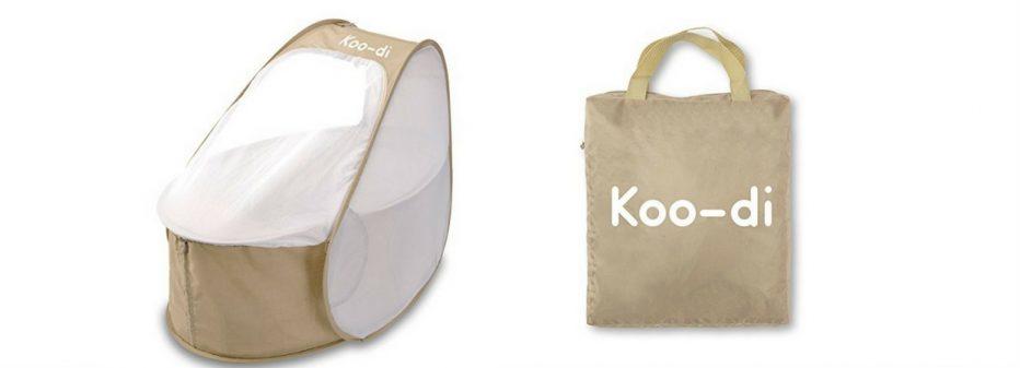 Couffin de Voyage Koo-Di : compact, léger, confortable