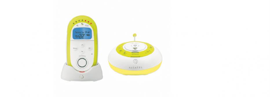 Babyphone Alcatel Baby Link 250 : un écoute bébé multifonctions