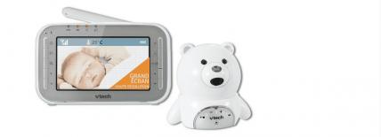 Babyphone vidéo VTech : un ourson pour surveiller bébé