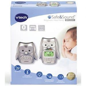 ecoute bebe VTech Hibou family