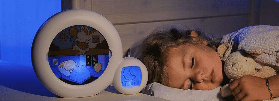Veilleuse réveil Kid's Sleep : pour distinguer jour et nuit