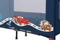 Lit parapluie Disney Cars : dormir avec Flash McQueen