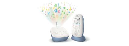 Babyphone DECT SCD 735/00 Philips Avent : un écoute-bébé projecteur d'étoiles