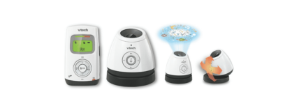 Light Show BM 2200 Vtech : babyphone audio projecteur d'étoiles