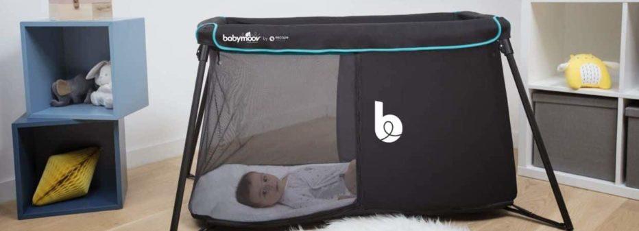 Naos Babymoov : le lit parapluie 2 en 1
